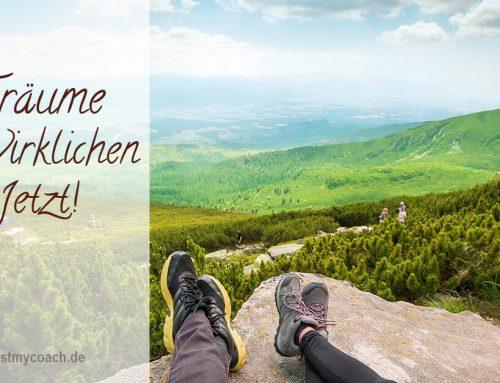 In vier Schritten zu deinem (Traum-) Ziel