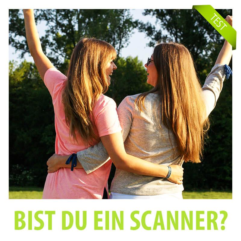 Bin ich ein Scanner?