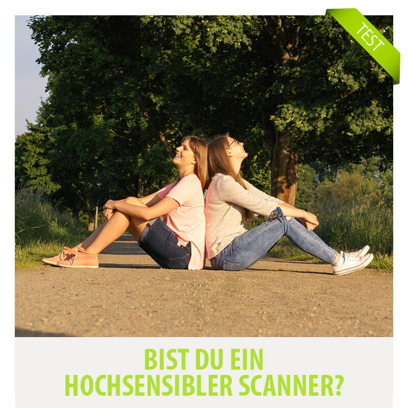 Bin ich ein Scanner? Test bist du ein Scanner